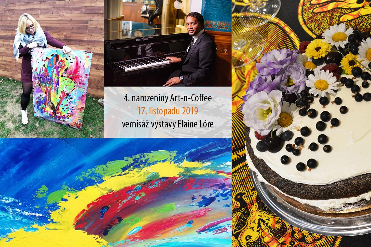 Art-n-Coffee slaví 4. narozeniny