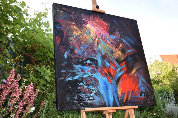 Vernisáž k výstavě obrazů Soni Midrlové